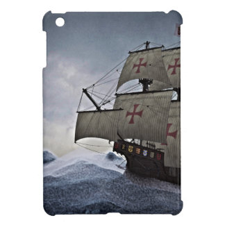 Medieval Carrack in the Storm iPad Mini Cover