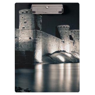 Medieval castle clipboard