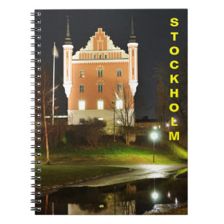 Medieval castle in Stockholm, Sweden Spiral Notebook