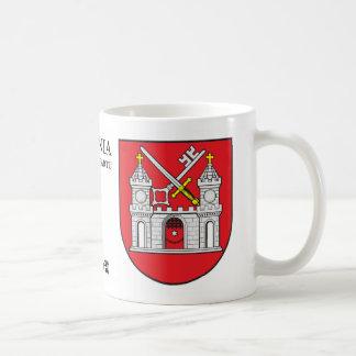 Medieval Castle Key & Sword from Tartu Estonia Coffee Mug