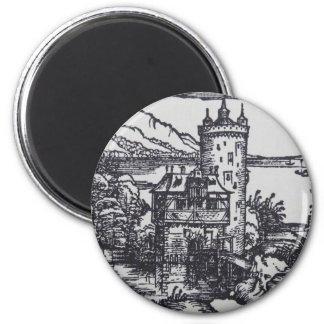 Medieval Castle Magnet