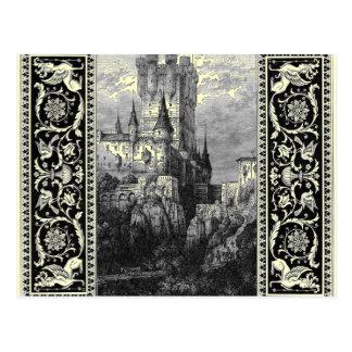Medieval Castle Postcard