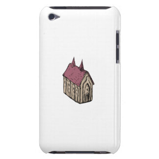 Medieval Church Drawing Barely There iPod Cases
