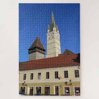 Medieval Church Tower Jigsaw Puzzle