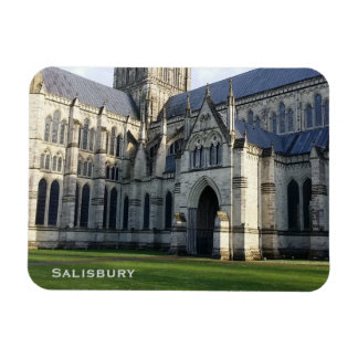 Medieval Cloister of the Salisbury Cathedral Magnet