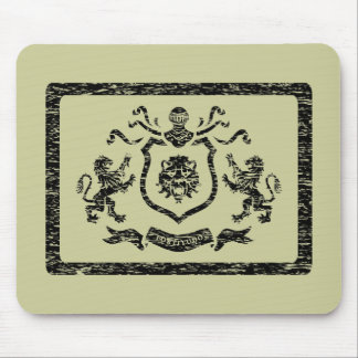 Medieval Coat of Arms Stamp - Mousepad
