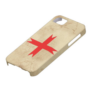 Medieval Cross of the Knights Templar iPhone 5 Covers