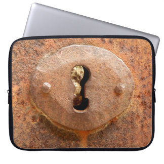 Medieval Door Lock Laptop Sleeve