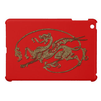 Medieval Dragon Antique Art Designer Gift Case For The iPad Mini