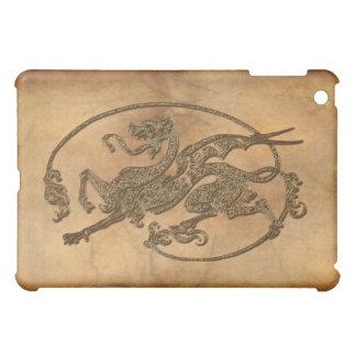 Medieval Dragon Antique Art Designer Gift Cover For The iPad Mini