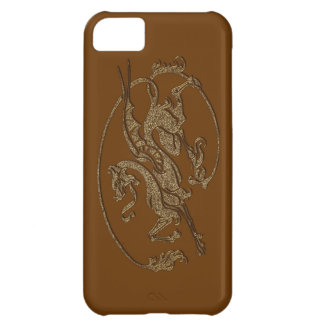 Medieval Dragon Antique Art Designer Gift iPhone 5C Case