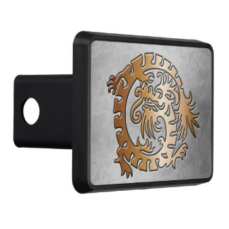 Medieval Dragon - Copper - Trailer Hitch Tow Hitch Covers