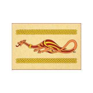 Medieval Dragon Design 2015 Canvas Print