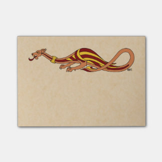 Medieval Dragon Design 2015 Post-it Notes
