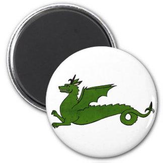 Medieval Dragon Magnets