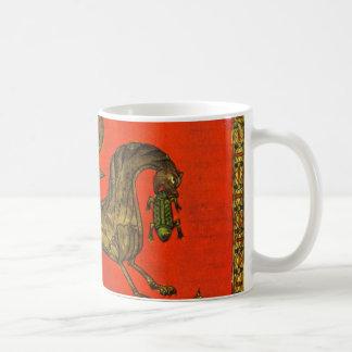 Medieval dragoon basic white mug