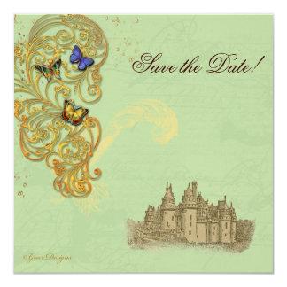 Medieval Fairy Tale Castle Custom Invitation