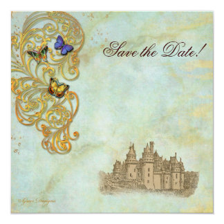 Medieval Fairy Tale Castle Invite