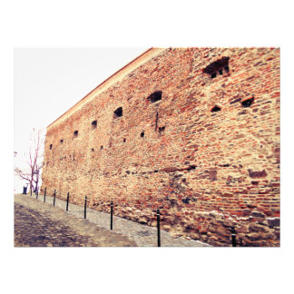 Medieval Fortress Brick Wall Photo Print