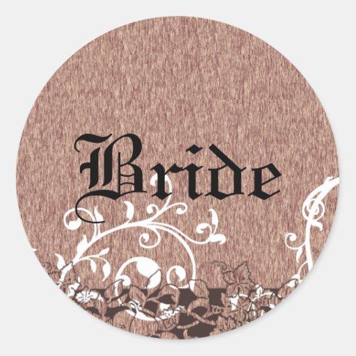 Medieval Fruit Wedding Sticker