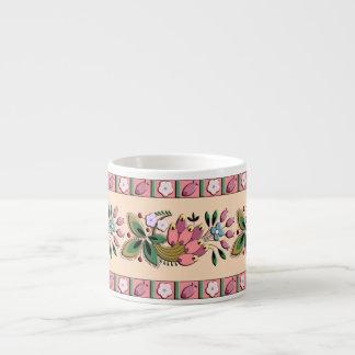 Medieval German border ornament Espresso Mug