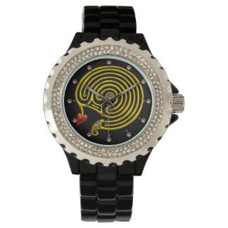MEDIEVAL GOLD HYPER LABYRINTH WITH GEMSTONES Black Watch