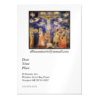Medieval Good Friday Scene Magnetic Invitations