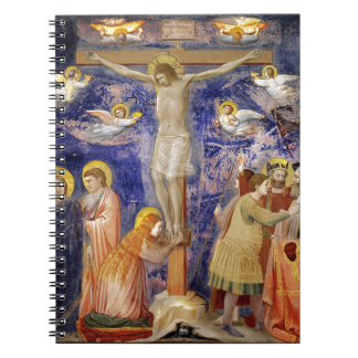 Medieval Good Friday Scene Notebook