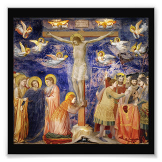 Medieval Good Friday Scene Photo Print