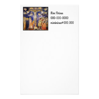 Medieval Good Friday Scene Stationery