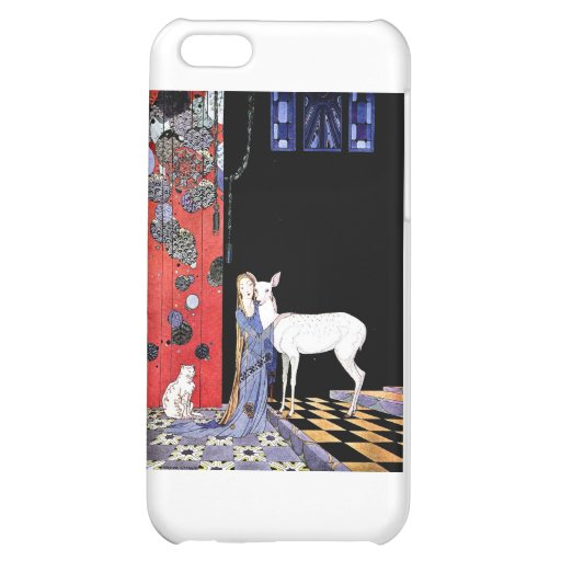 medieval gown iPhone 5C cases