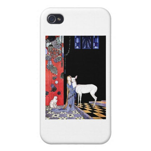 medieval gown case for iPhone 4