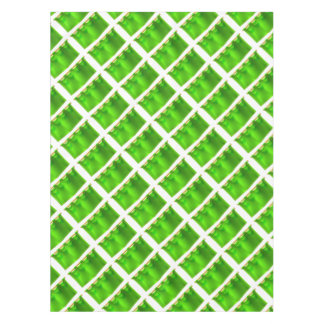 Medieval Green Royal Banner Flag Tablecloth