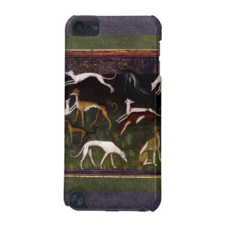 Medieval Greyhounds in the Deep Woods iPod Touch (5th Generation) Case