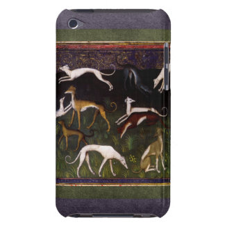 Medieval Greyhounds in the Deep Woods Barely There iPod Cases