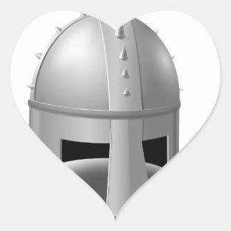 Medieval Helm Sticker