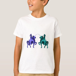 Medieval Horses Kid's T-Shirt