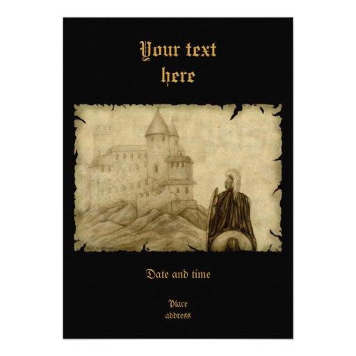 Medieval Personalized Invite