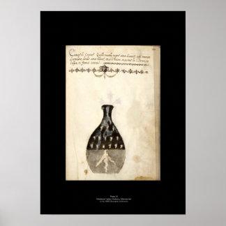 Medieval Italian Alchemy Poster Plate 10