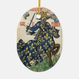 Medieval King of France Ornament