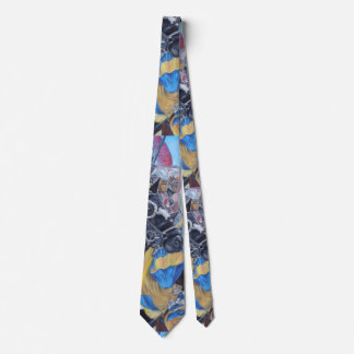 medieval knights jousting on horses historic art tie