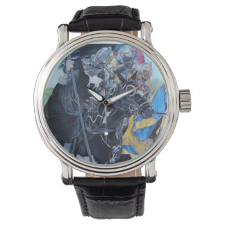 medieval knights jousting on horses historic art watch