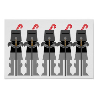 Medieval Knights Poster
