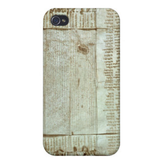 Medieval letter of protest from the Bohemian iPhone 4/4S Case