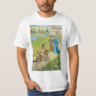 Medieval Life in England - Canterbury pilgrims 5 T-Shirt