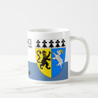 Medieval Lion and Sheep from Finistere France Coffee Mug