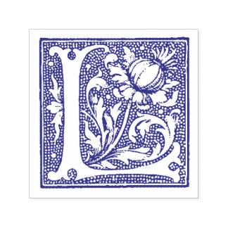 Medieval Manuscript Letter L Monogram Self-inking Stamp