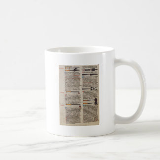 Medieval Medical Instruments Coffee Mug