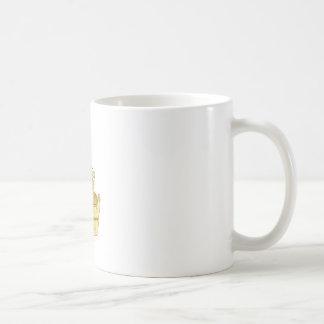 Medieval Miller With Bucket Drawing Coffee Mug
