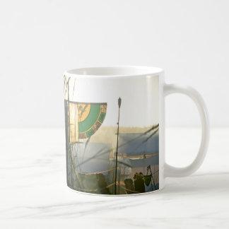 Medieval Mists Banner Photograph Basic White Mug